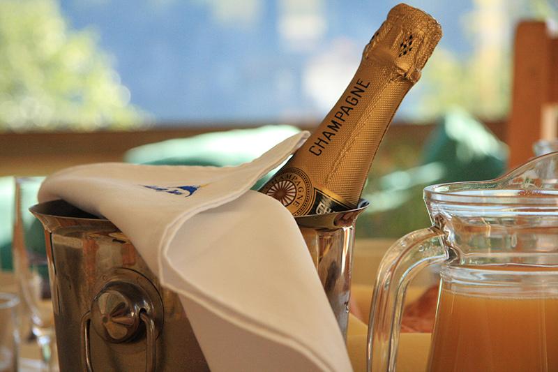 Champage Breakfast Goa Hotel
