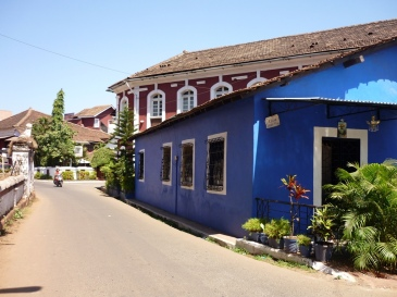 Goa's Latin Quarter of Fontainhas